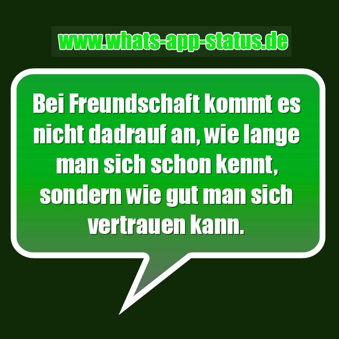 Freundschaft Whatsapp Status Sprüche