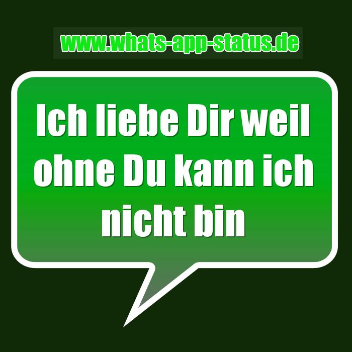 status sprüche über liebe Ich liebe Dir | WhatsApp Status Sprüche status sprüche über liebe