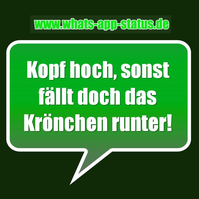 Krönchen Whatsapp Status Sprüche
